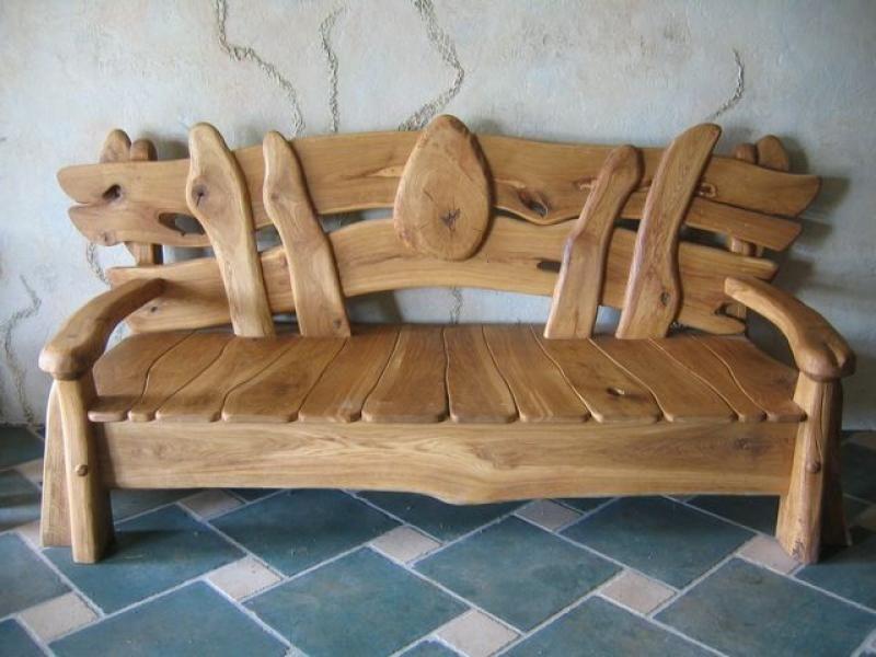 Мебель из натуральной древесины своими руками